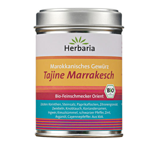 Tajine Marrakesch 100g <br><b>Excellente 6 épices.</b>